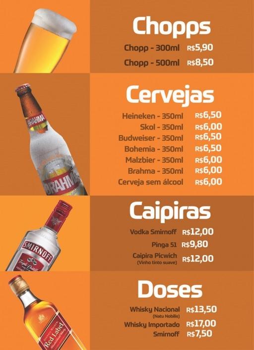 Bebidas Picwich
