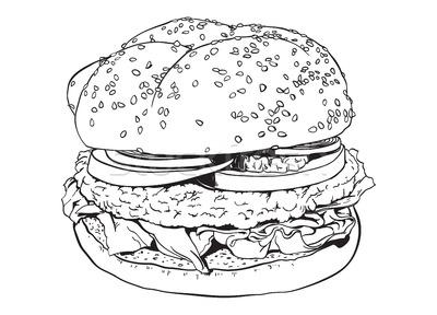 Hamburger Mono Picwich