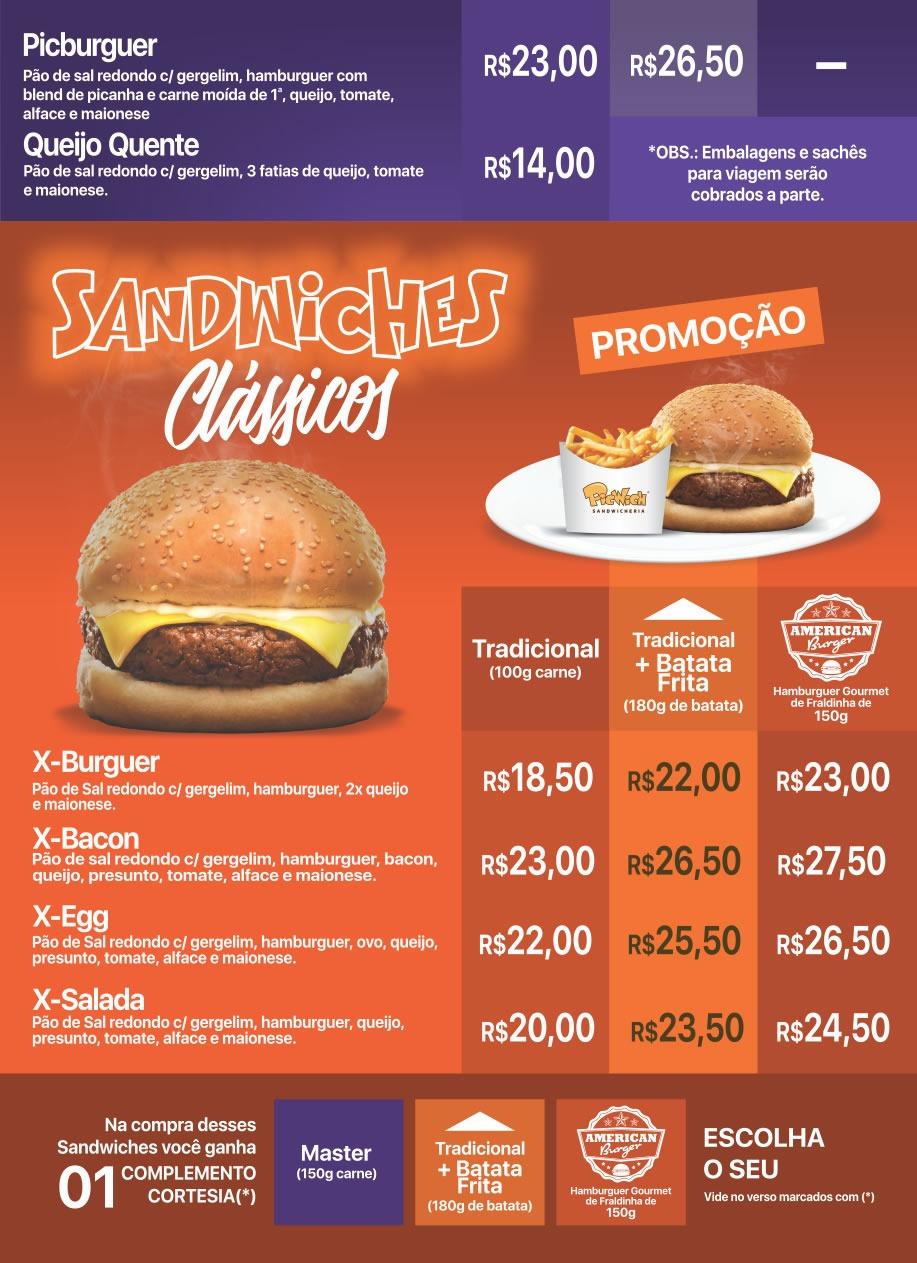 Sandwiches Clássicos