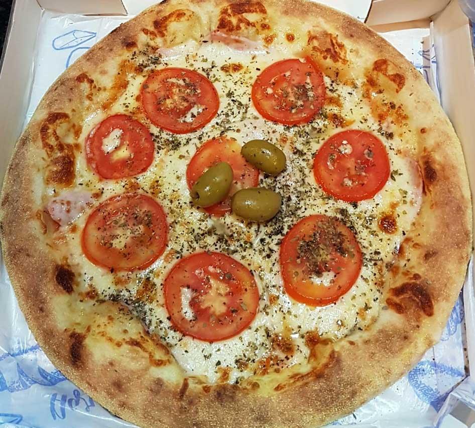 Pizza Presunto e Queijo PicWich